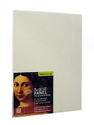 Ampersand The Artist Panel Canvas Texture Flat Profile 23cm . x 30cm . [PACK OF 2 ]