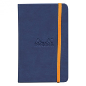 Rhodiarama A6 Lined Notebook Sapphire