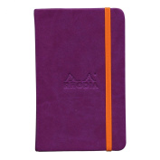 Rhodiarama A6 Lined Notebook Violet