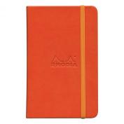 Rhodiarama A6 Lined Notebook Tangerine