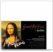 Mona Lisa Gessoed Art Board Size