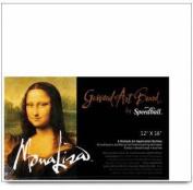 Mona Lisa Gessoed Art Board Size