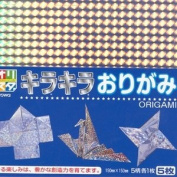 Japanese 5 Sheets Origami Folding Paper 15cm Prism #8505