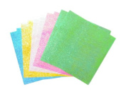 Origami Paper Sheets - 20ct Craft Squares - 15cm Texture Solids