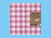 Chiyogami Japanese Origami Paper - Pattern of Cheque / Gingham - 100 Sheets 5 Colours