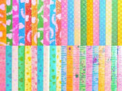 Origami Paper Strips - Luck Stars 200ct - Colourful Shine Brights