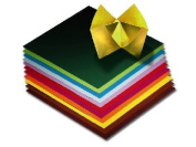 Origami Coloured Folding Squares- 100 20cm x 20cm Sheets