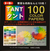 TANT 100 Colours - 6 in (15 cm) 100 sheets