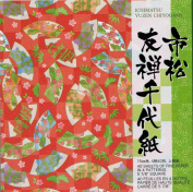 Origami Paper - Ichimatsu Yuzen Chiyogami