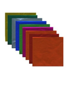 Yasutomo Fold'ems Origami Paper 10 metallic colours 15cm . pack of 36 [PACK OF 3 ]