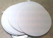 60 White Cardstock Paper Die-Cut Circles 25cm diameter