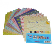 15cm Traditional Korean Pattern Origami Paper #3 / 300 Sheets