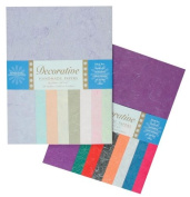 Shizen Design Silk Paper - 22cm x 28cm - Pack of 48 - Assorted Colours