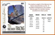 B & R #51 Triple T Parchment 9X12 50Sht Pad
