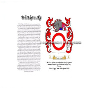 Wittkowsky Coat of Arms/ Family Crest on Fine Paper and Family History