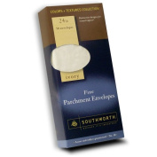 Southworth Fine Parchment Envelopes, Size 10, Ivory, 50 Count