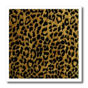 Lee Hiller Designs RAB Rockabilly - RAB Rockabilly Metallic Gold and Black Leopard Print - Iron on Heat Transfers