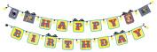 BUTCH & harold Party Decorating Sticker Banner, Happy Birthday