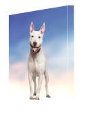 Staffordshire Bull Terrier Dog Canvas