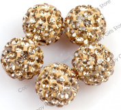 Pave Shine 10Mm Beads Mixed Lots Of Colours Easy Select For Jewellery Making Design Diy