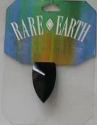 1 Pc - 32x18mm Warhead Black Bead - Rare Earth - 33010-05
