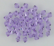 48 4mm. crystal bicone 5301 Alexandrite beads