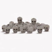 JOLLY STORE Crafts Skull Beads Glow in the Dark 100pc