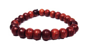 Asian Hippie Wristband Wooden Prayer Ball Thai Bracelet Vintage Style Fashion