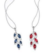 Avon - Delphine GALA Necklace - RED