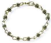 Premier Designs Jewellery Lauren Antiqued Silver Plated Bracelet RV$25