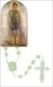 Rosarybeads4u St Saint Patrick Green Plastic Rosary Beads Rosaries