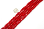 Round Red Coral Beads Strand 38cm Jewellery Making Beads