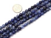 "6mm 8mm 10mm 12mm Round Sodalite Stone Beads Strand 15"" Jewellery Making Beads"