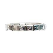 Italian Charm Puffed ILY Bracelet