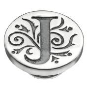 Kameleon Jewellery Silver J Initial Jewelpop