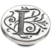 Kameleon Jewellery Silver L Initial Jewelpop