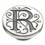Kameleon Jewellery Silver R Initial Jewelpop