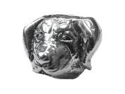 Zable(tm) Sterling Silver Labrador Retriever Bead / Charm