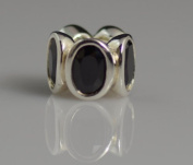 Authentic Pandora Charm 100% Sterling silve Black oval lights
