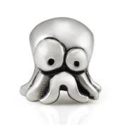 Ohm Surprised Octopus European Bead