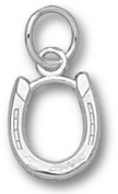 Horse Shoe 1cm Charm - Sterling Silver Jewellery