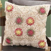 Sunrise Craft & Hobby Raffia Pillow Cover Raffia Kit