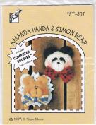 Amanda Panda & Simon Bear Pattern