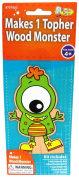 Monster Camp Topher Wood Doll Craft Activity Kit