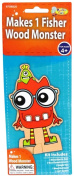 Monster Camp Fisher Wood Doll Craft Activity Kit
