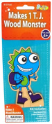 Monster Camp TJ Wood Doll Craft Activity Kit