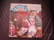 Daisy Kingdom Country Bear Ted E. Bear Easy Sew Pre-printed Panel