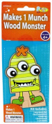Monster Camp Munch Wood Doll Craft Activity Kit