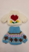 Teddy Bear/doll Sweater Clothes Outfits Small Size- 2 Pieces Set