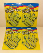 200 PC- CREATIVE HANDS ADHESIVE WIGGLE EYES #2201 AGES 4+ NEW